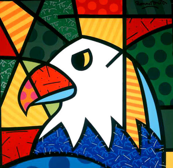 Pinturas e quadros do romero britto for Tecnicas vanguardistas