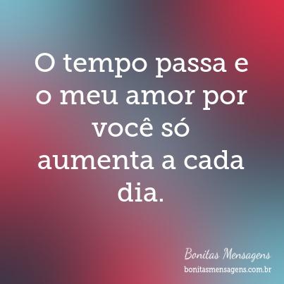 O Tempo Passa E O Meu Amor Por Voce So Aumenta A C 403x403