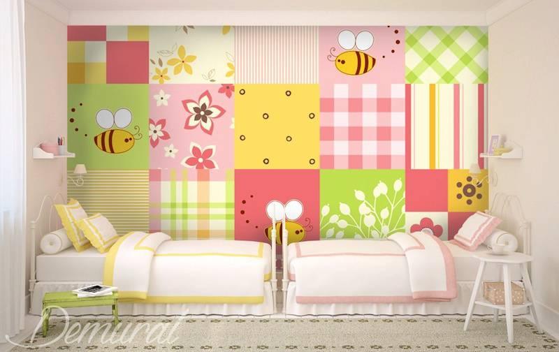 Papel de parede infantil for Papel decorativo pared infantil