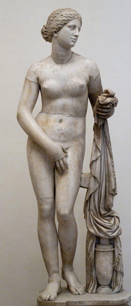 A Afrodite de Cnido.